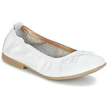 Shoes Girl Ballerinas Citrouille et Compagnie JAPPALIE MOCA White