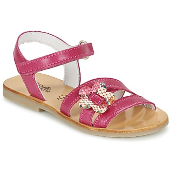 Shoes Girl Sandals Citrouille et Compagnie CHOUPINETTE Fuschia