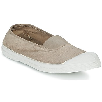Shoes Women Low top trainers Bensimon TENNIS ELASTIQUE Beige
