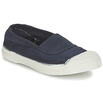 Shoes Children Ballerinas Bensimon TENNIS ELASTIQUE Marine