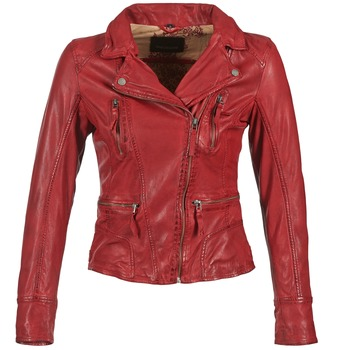 material Women Leather jackets / Imitation le Oakwood 60861 Red