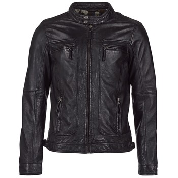 material Women Leather jackets / Imitation le Oakwood CASEY Black