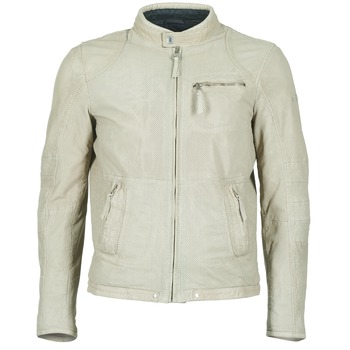 material Men Leather jackets / Imitation le Redskins MANNIX Beige