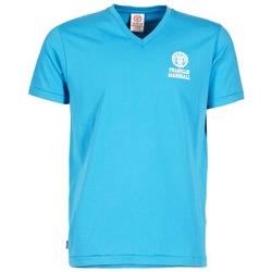 material Men short-sleeved t-shirts Franklin & Marshall DOBSON Blue