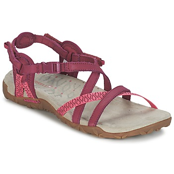 Shoes Women Sandals Merrell TERRAN LATTICE II Pink