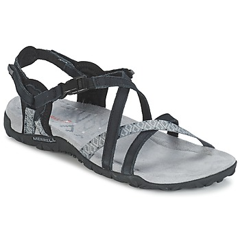 Shoes Women Sports sandals Merrell TERRAN LATTICE II Black