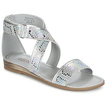 Shoes Girl Sandals Mod'8 JOYCE Silver
