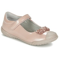Shoes Girl Ballerinas Mod'8 KOM Pink / Powder