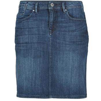 material Women Skirts Esprit MAFGA Blue / MEDIUM