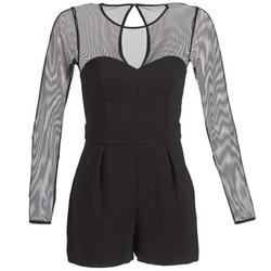 material Women Jumpsuits / Dungarees BCBGeneration CHARLOTTE Black