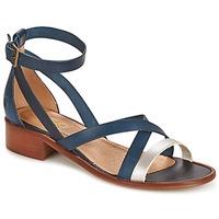 Shoes Women Sandals Casual Attitude COUTIL Blue