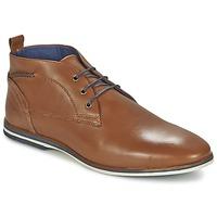 Shoes Men Mid boots Casual Attitude MANXIO Brown