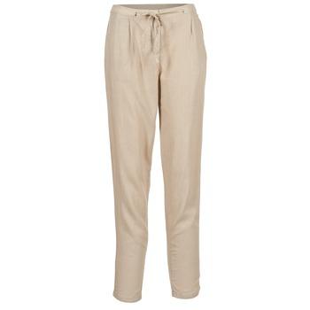material Women Wide leg / Harem trousers Best Mountain DOUNE Beige