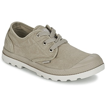Shoes Women Low top trainers Palladium US OXFORD Grey