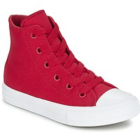 Shoes Children High top trainers Converse CHUCK TAYLOR All Star II HI Red