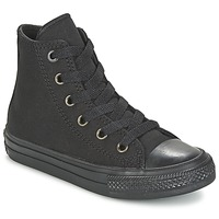 Shoes Children High top trainers Converse CHUCK TAYLOR All Star II HI Black