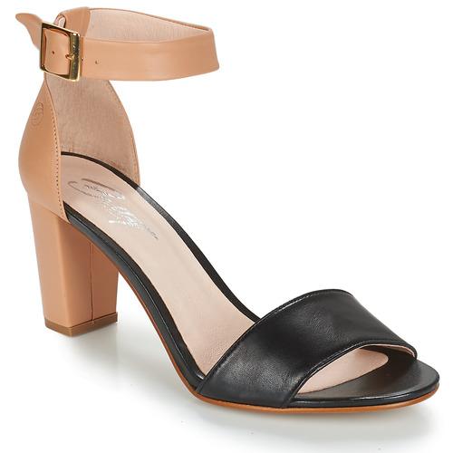 Shoes Women Sandals Betty London CRETA Nude / Black