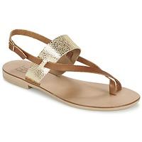 Shoes Women Sandals Betty London EVACI Camel / Gold