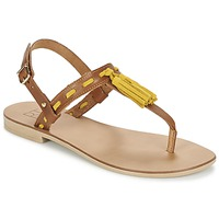 Shoes Women Sandals Betty London ELOINE Brown / Yellow