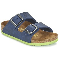 Shoes Children Flip flops Birkenstock ARIZONA Blue