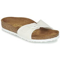 Shoes Girl Mules Birkenstock MADRID White / Glitter