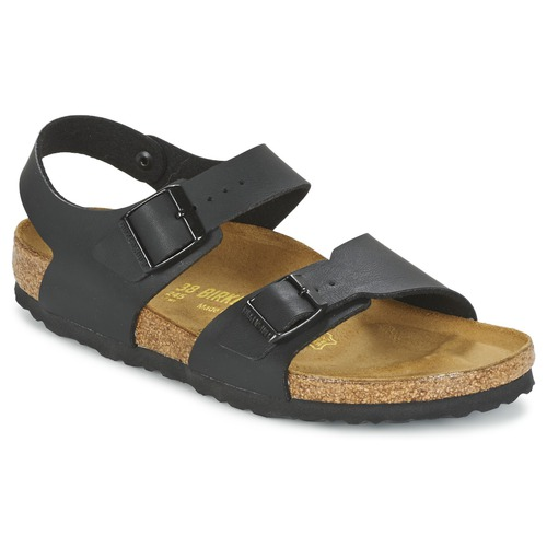 Shoes Children Sandals Birkenstock NEW YORK Black