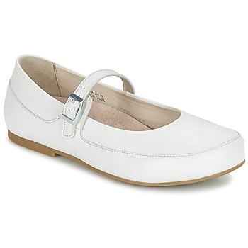 Shoes Women Ballerinas Birkenstock LISMORE White