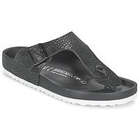 Shoes Men Flip flops Birkenstock RAMSES PREMIUM Black
