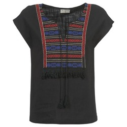 material Women Blouses Betty London ETROBOLE Black