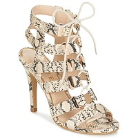 Shoes Women Sandals Ravel OMAK Beige / Python