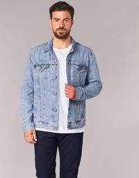 material Men Denim jackets Levi's THE TRUCKER JACKET Blue
