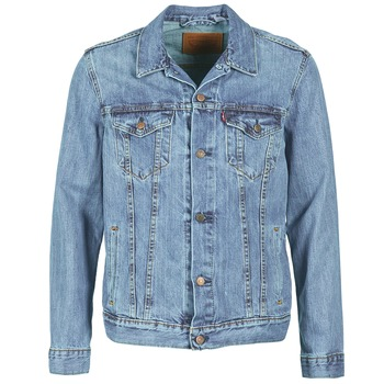 material Men Denim jackets Levi's THE TRUCKER JACKET Icy / P4927