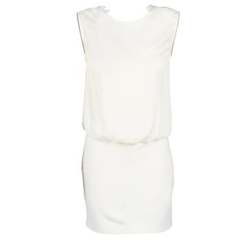 material Women Short Dresses Le Temps des Cerises SHEILA White