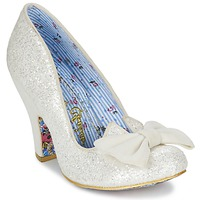 Shoes Women Court shoes Irregular Choice NICK OF TIME White / Glitter