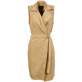 material Women Trench coats Vila VIEMMELY Beige