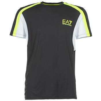 material Men short-sleeved t-shirts Emporio Armani EA7 VENTUS7 Black