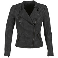 material Women Leather jackets / Imitation le Only AVA Black