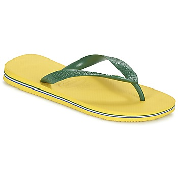 Shoes Flip flops Havaianas BRASIL Yellow / Green