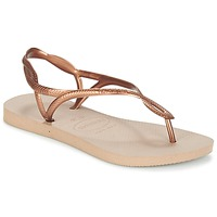 Shoes Women Flip flops Havaianas LUNA BRONZE