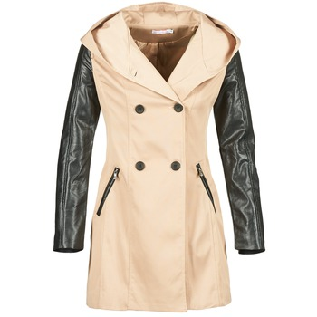 material Women Trench coats Moony Mood ECILA Beige