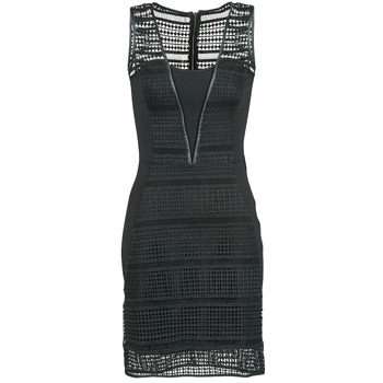 material Women Short Dresses Morgan RHONE Black