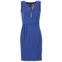 material Women Short Dresses Morgan ROPOM Blue