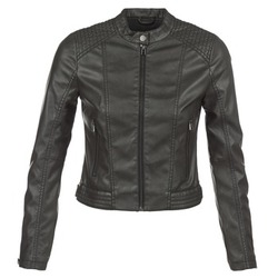 material Women Leather jackets / Imitation le S.Oliver VERDUNE Black