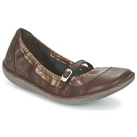 Shoes Women Ballerinas TBS MARIZA Brown / Coppery