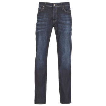 material Men slim jeans Jack & Jones CLARK JEANS INTELLIGENCE Blue / Raw