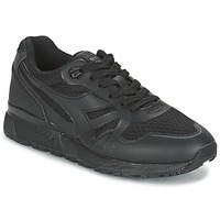 Shoes Men Low top trainers Diadora N9000 MM II Black