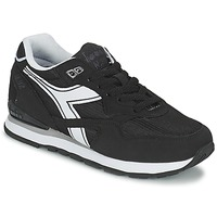 Shoes Low top trainers Diadora N-92 Black / White