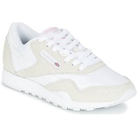 Shoes Women Low top trainers Reebok Classic CLASSIC NYLON BEIGE / White
