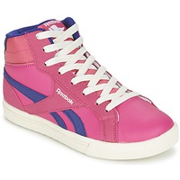 Shoes Girl High top trainers Reebok Classic REEBOK ROYAL COMP 2 Pink