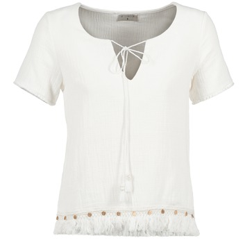 material Women Blouses Betty London ECHRALE Ecru